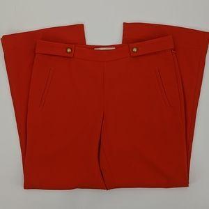 LOFT Kate Fit Side Zip Flare Pants
